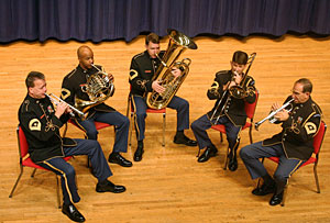 thumbnail for The U.S. Army Brass Quintet